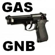 Pistole a gas non scarrellanti