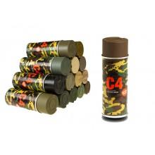 Spray C4 colore Mil Grade RAL8027 (Armamat)