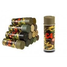 Spray C4 Colore TAN RAL 499 (Armamat)