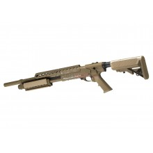 Fucile a pompa Medium RAS Shotgun FDE Dark Earth (G&P)