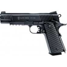 Pistola a co2 M1911 Tactical scarrellante (Elite Force)