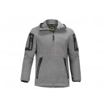 Giacca Pile Aviceda Fleece Hoody Grigio Tg. XL (Claw Gear)