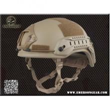 Elmetto ACH MICH 2001 Helmet Special Action Tan (Emerson)