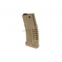 Caricatore Mid-Cap AMOEBA series Pmag 140bbs TAN
