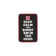 Patch in gomma Keep Calm and Shoot Them in the head (JTG)