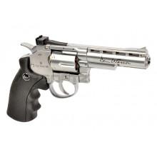 Pistola a co2 Revolver Cromata 4