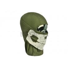 Balaclava Verde con Teschio (Invader Gear)