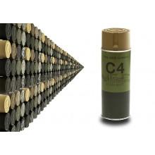 Spray C4 Colore Nocciola RAL 8000 (Mil Grade)