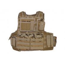 Giubbetto tattico Mod Carrier Combo Coyote Brown (Invader Gear)