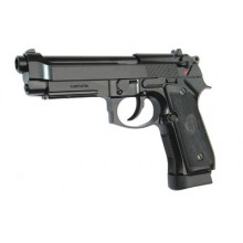 Pistola a co2 Beretta 92F Scarrellante Full Metal (KJ Works)