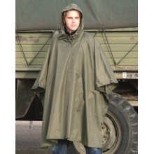 Poncho Wet Weather Ripstop OD (Mil-Tec)
