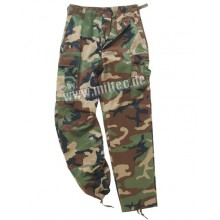 Pantalone Mimetico US Woodland Tg.S (Mil-Tec)