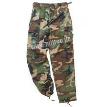 Pantalone Mimetico US Woodland Tg.L (Mil-Tec)