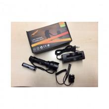 Torcia SC8XPE 250 Lumen + batteria 2450mah + carica batt. + remoto (Hunteye)