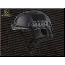 Elmetto fast helmet con lenti bj Nero (Emerson)