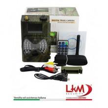Fototrappola GPRS GSM MMS LKM Security 12 Megapixel invio foto/video