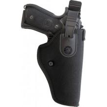Fondina cintura in cordura con sicura Glock20/21 e Taurus PT809
